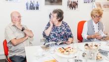 Companion invites grandparents to work