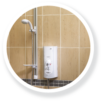 An electric shower