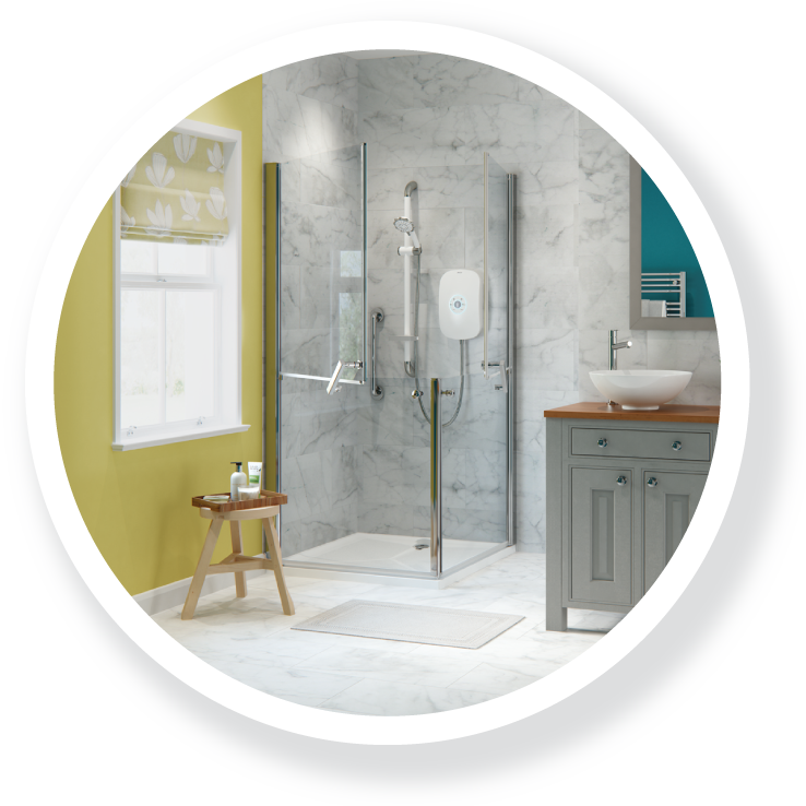 The Thames; part of the Easy Access Showers range.