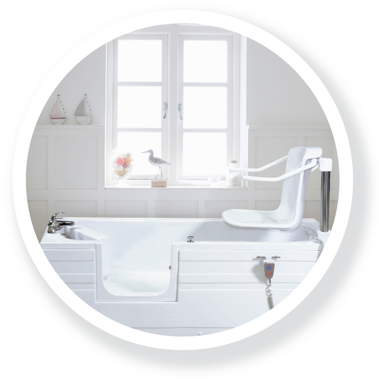 The Esk; part of the Walk-in Baths range.