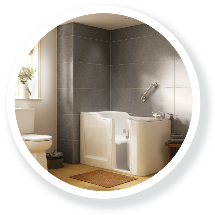 The Leven; part of the Walk-in Baths range.