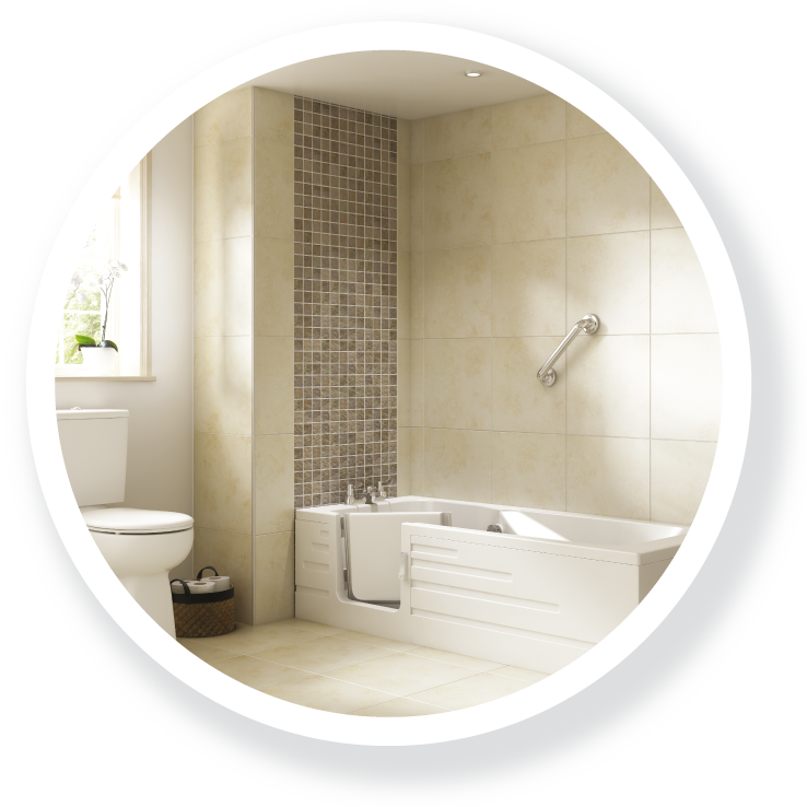 The Lune; part of the Walk-in Baths range.